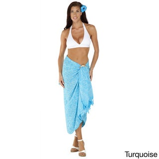 Women's 'Spring Leaves' Sarong