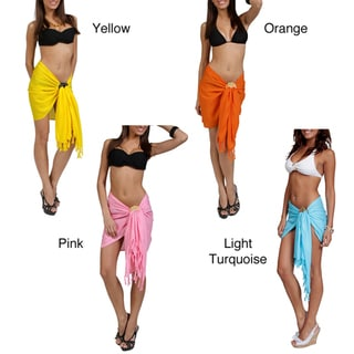 Women's Solid Mini Sarong (Indonesia)