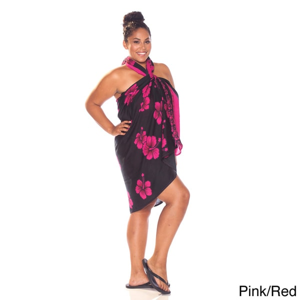 Hibiscus Plus Size Sarong (Indonesia)