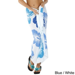 Floral Hawaiian Sarong (Indonesia)