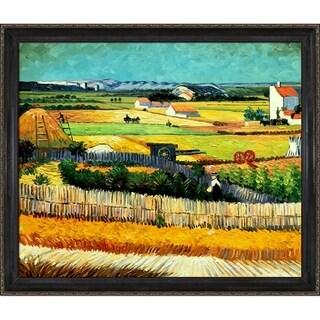 Van Gogh 'The Harvest' Canvas Art