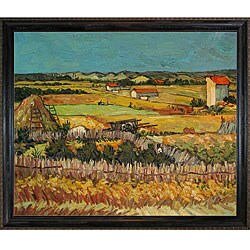 Van Gogh 'The Harvest' Canvas Art