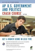 AP U.S. Government & Politics Crash Course (Paperback)