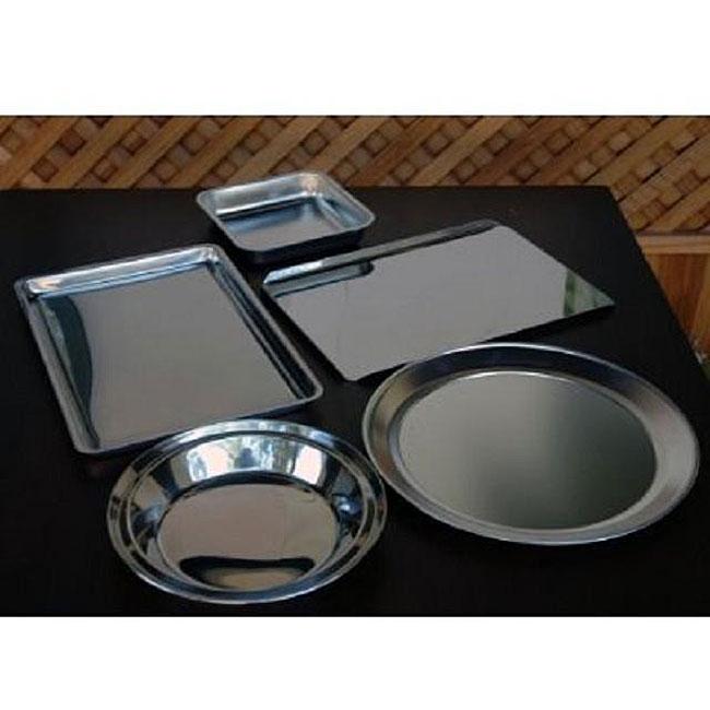 Grade 18/8 Stainless Steel 5-piece Bakeware Set