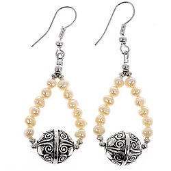 Pearl Silver Earrings (Thailand)
