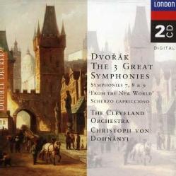 Dohnanyi/Cleveland Symphony Orchestra - Dvorak:Syms 7,8,9