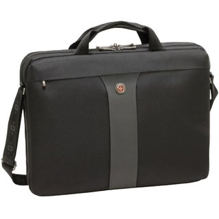 Swissgear Legacy Slimcase. Fits up to 17in laptop. Black
