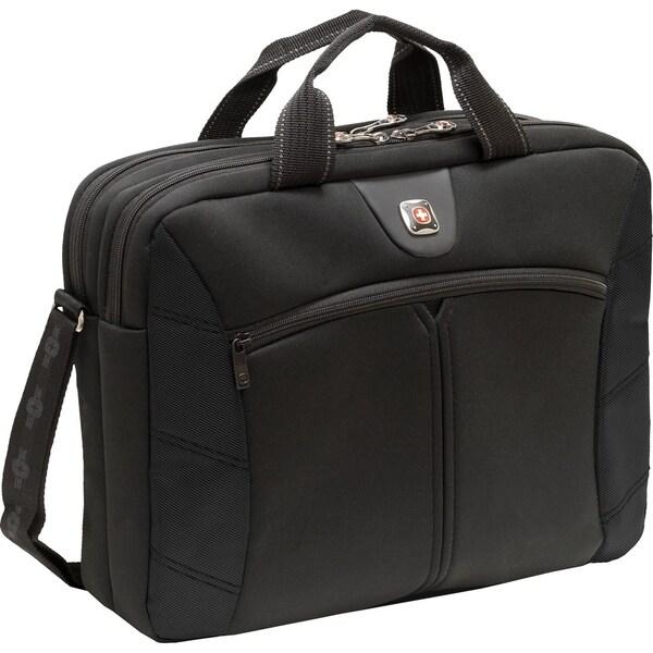 Swissgear Sherpa Slimcase Black. Fits up to 15.6in laptop