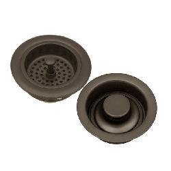 Oil-rubbed Bronze Kitchen Sink Strainer and Stopper