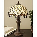 Tiffany-style Jewel Roman Table Lamp