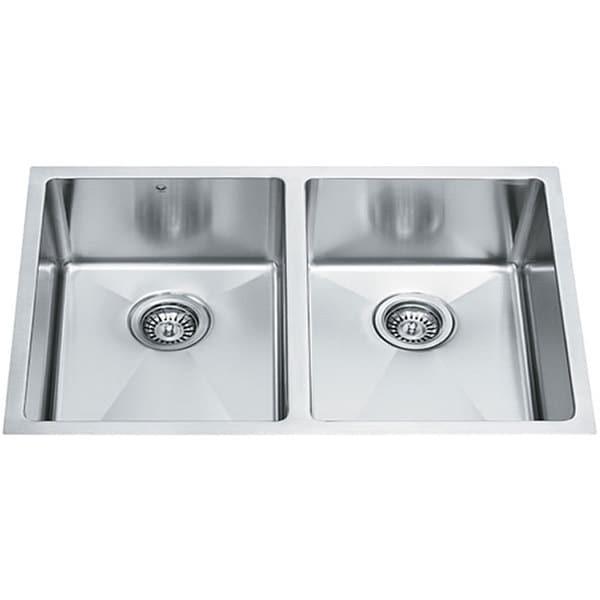 VIGO 29-inch Undermount Stainless Steel 16 Gauge Stainless Steel Double Kitchen Sink
