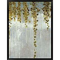 Lisa Kowalski 'Gold Swirls' Framed Art