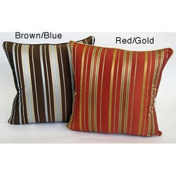 Stripe 18-inch Throw Pillows (Set of 2)