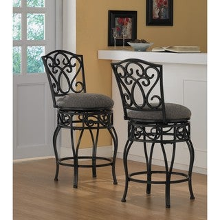 Chase 24 Inch Swivel Counter Stools Set Of 2 Overstock