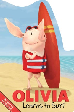 Olivia Learns to Surf (Board book)