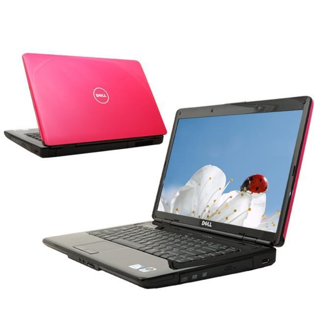 Dell Inspiron 1545 2.1GHz Pink Windows 7 Laptop (Refurbished