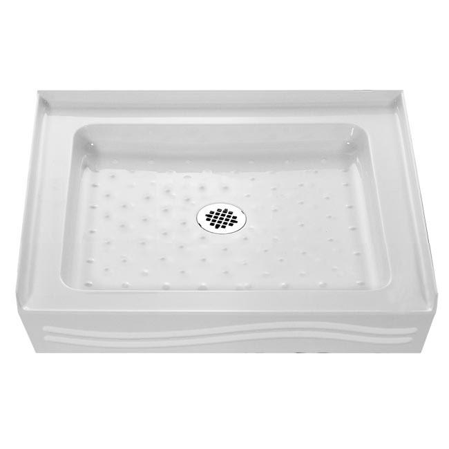 DreamLine 36x36-inch Trio Square Single Threshold Shower Tray
