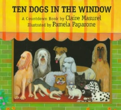 Ten Dogs in the Window: A Countdown Book (Hardcover)
