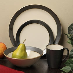 Sango 16-piece Bistro Cream Dinnerware Set