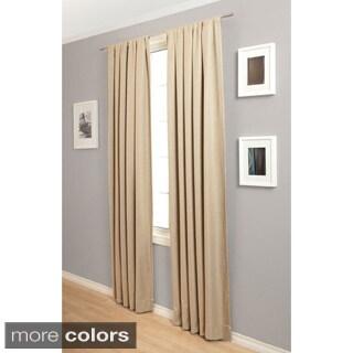 Trilogy Rod Pocket 108-Inch Blockout Curtain Panel
