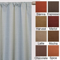 Trilogy Rod Pocket 120-inch Curtain Panel