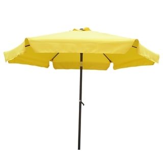 International Caravan Steel Rib 8-foot Patio Umbrella
