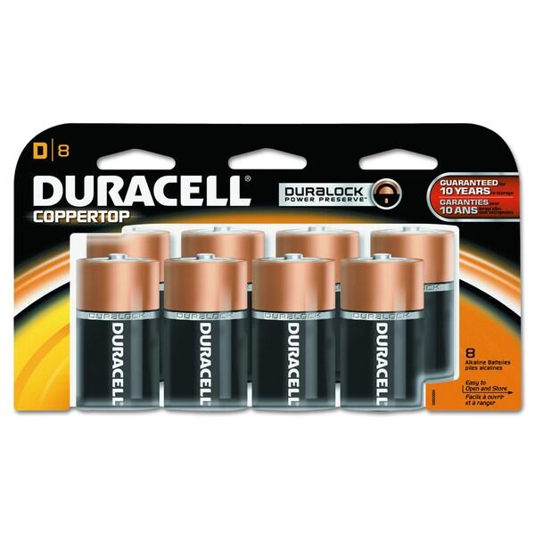DURACELL COPPERTONE SUPLD CELL ALK BATT