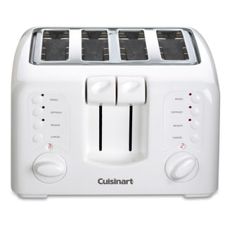 Cuisinart CPT-140 Compact White 4-slice Toaster