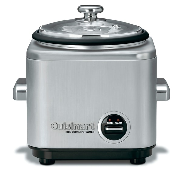 Cuisinart - 4-Cup Rice Cooker - Silver CRC-400