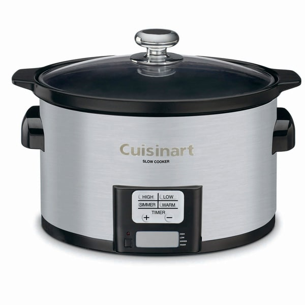 Cuisinart PSC-350 Stainless Steel 3.5-quart Programmable Slow Cooker