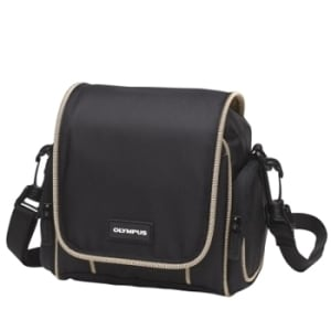 Olympus Small Camera Bag with Beige Trim