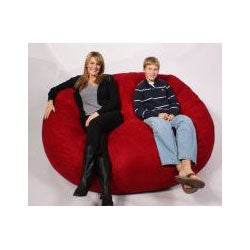 FufSack XXLarge Red Lounge Chair