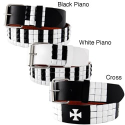 H2W Men's Piano and Cross Belt