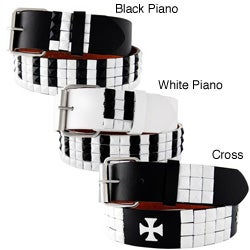 H2W Men's Piano and Cross Belt