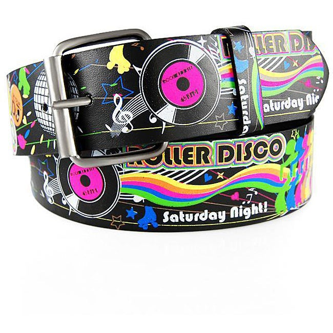 H2W Men's Disco Belt