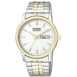 Citizen Men's Eco-Drive Two-tone Flexible Bracelet Watch