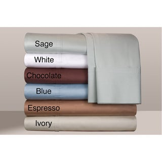 Egyptian Cotton 500 Thread Count Deep Pocket Sheet Set with Set of 2 Bonus Pillowcases