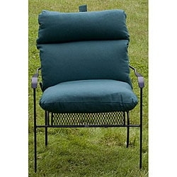 Outdoor Forest Green Club Chair Cushion