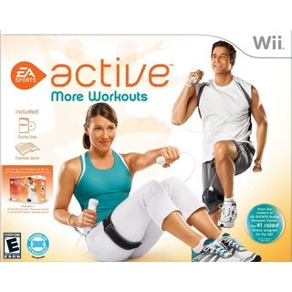 WII EA ACTIVE MORE WORKOUTS