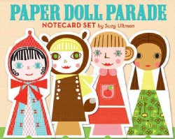 Paper Doll Parade Notecard Set (Cards)