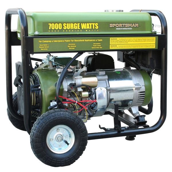 7000-watt Generator