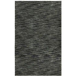 Hand-tufted Mixed Grey Abrash Wool Rug (5' x 8')