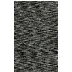 Hand-tufted Mixed Grey Abrash Wool Rug (5' x 8')