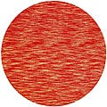 Hand-tufted Mixed Copper Abrash Wool Rug (6' Round)