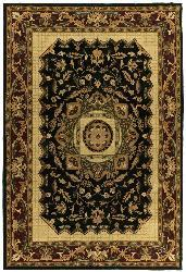 Hand-tufted Historic Jain Wool Rug (5' x 8')