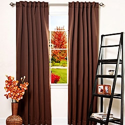 Solid Thermal Insulated 108-inch Blackout Curtains