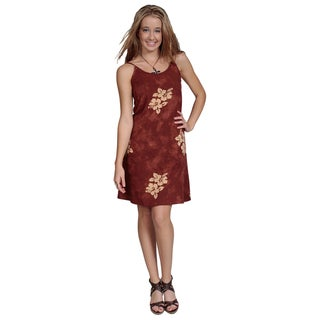Handmade Hibiscus Sundress (Indonesia)