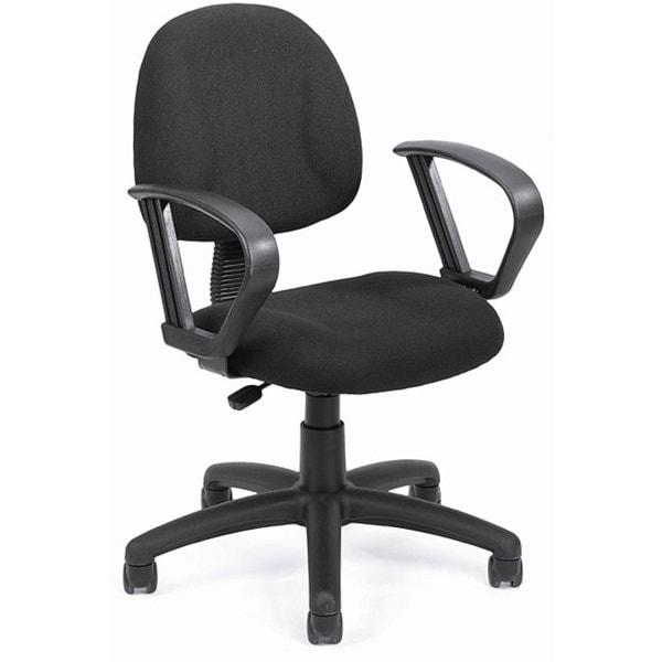 Boss Black Mid-back Ergonomic Task Chair
