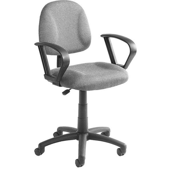 Boss Grey Mid-back Ergonomic Task Chair