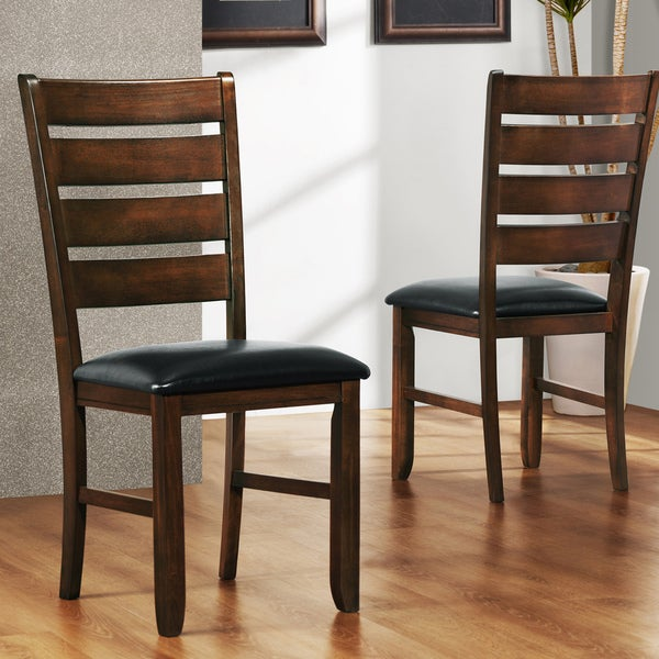 TRIBECCA HOME Camden Arts and Crafts Side Chairs (Set of 2)